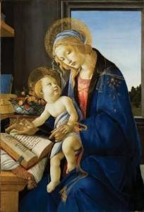 """Sandro Botticelli, """"Madonna and Child"""", Museo Poldi Pozzoli, Milan"""