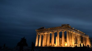 Acropolis (AFP PHOTO / ARIS MESSINIS)