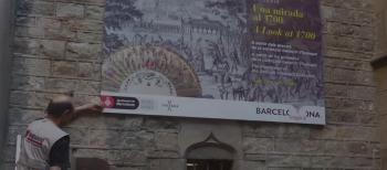 """Video del montaje de la exposición """"Una mirada al 1700"""""""