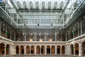 Harvard Art's Museums Courtyard