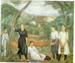 "Joaquim Sunyer ""Cala Forn"", 1917"