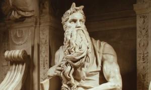 Michelangelo's statue of Moses, tomb of Julius II. Photo: Gianni Dagli Orti