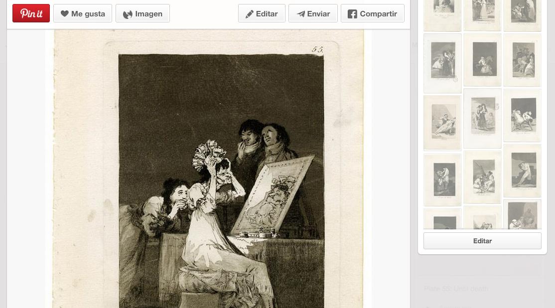 Pinterest Goya