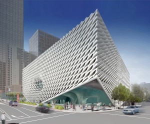 The Broad planned museum in Los Angeles. Credit The Broad and Diller Scofidio + Renfro in collaboration with Gensler