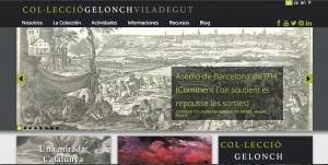 Página Web Colección Gelonch Viladegut