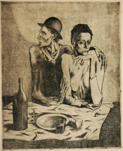 "Pablo Picasso, ""Repas frugal"" (1905)"