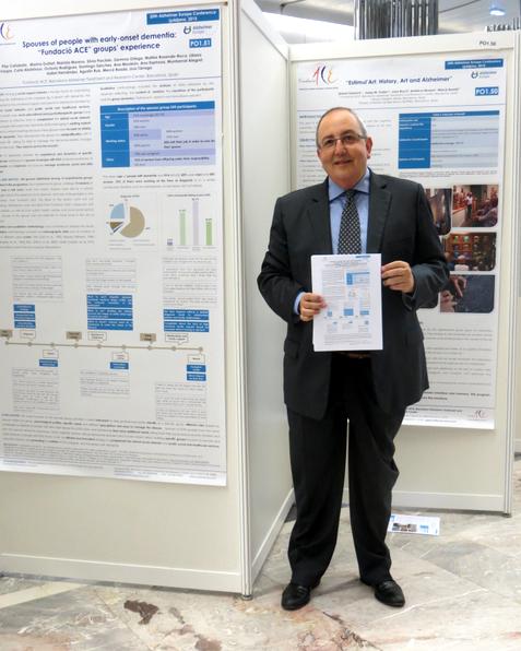 Antoni Gelonch en la 25ª Conferencia Anual de Alzheimer Europa