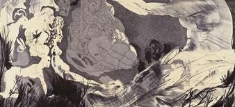 L'Hommage à Picasso et  les gravures