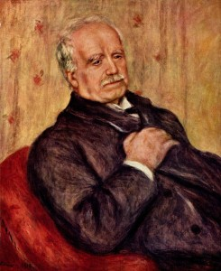 """Portrait of Paul Durand-Ruel"" by Pierre-Auguste Renoir, 1910"
