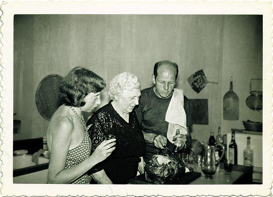 Jackson Pollock y su esposa Lee Krasner. / © Cortesía Pollock‑Krasner