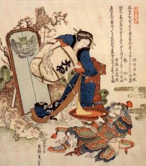 O-Ei Hokusai, graveur