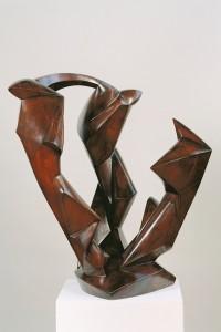 Dreiklang, Rudolf Belling, 1924