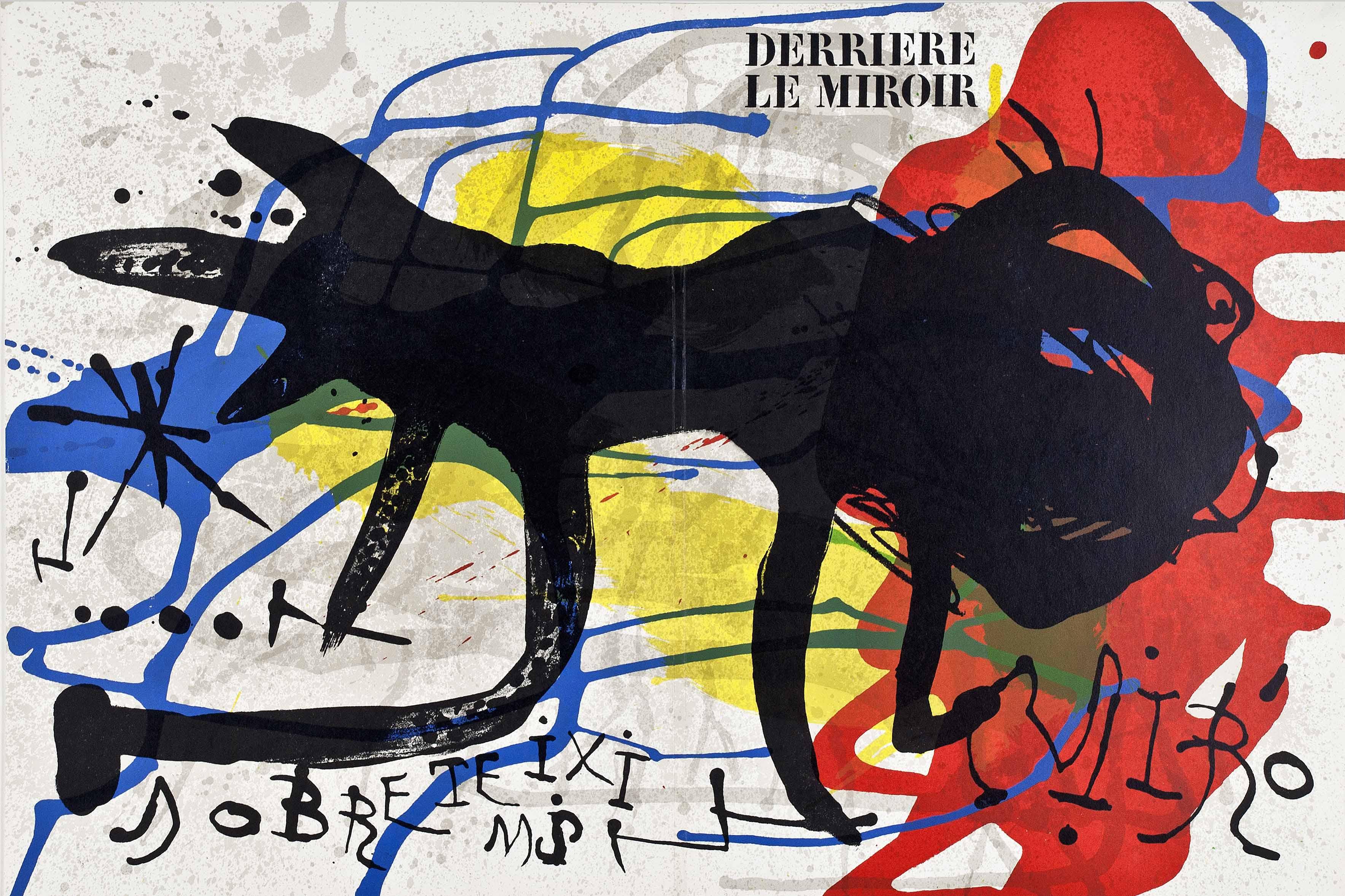 Derri re le miroir n 203 gelonch viladegut collection for Derriere le miroir miro