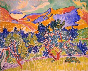"""André Derain, """"Muntanyes de Cotlliure"""", 1905"""