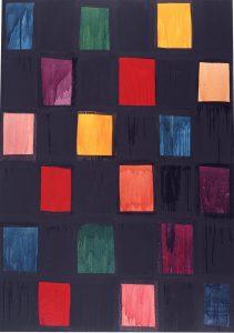 """Mary Heilmann, """"The Thief of Baghdad"""", 1983"""