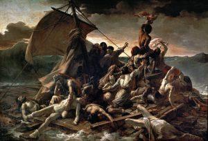 """Théodore Géricault, """"The Raft of the Medusa"""", oil on canvas, 1818-1819"""