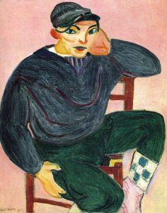 "Henri Matisse, ""Joven marinero"", 1906"