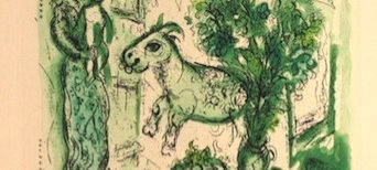 Marc Chagall, illustrateur, eaux-fortes et aquatintes