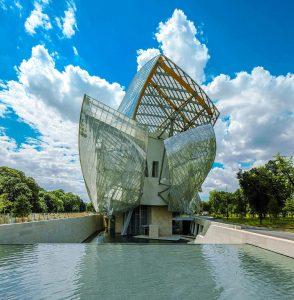 Centre expositiu de la Fondation Louis Vuitton a Paris