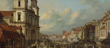 Paintings and Reconstruction: the example of Warsaw