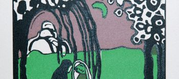 Wassily Kandinsky, also engraver
