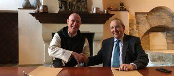 Acord entre la col·lecció Gelonch Viladegut i el Monestir de Poblet per la promoció artística del museu del Monestir de Poblet