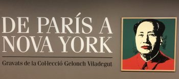 """From Paris to New York"" in Manresa"